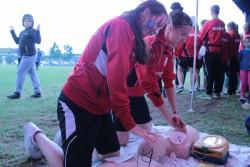 szkolenie na evencie biznesowej ligi pomocy