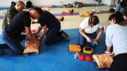 Ćwiczenia kurs pierwszej pomocy