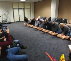 Ćwiczenia udzielanie pierwszej pomocy