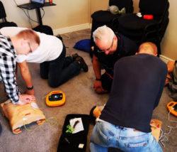 Ćwiczenia z kursu pierwszej pomocy