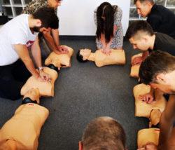 kurs pierwszej pomocy łódź szkolenia