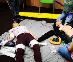 Kurs pierwszej pomocy manekin białystok