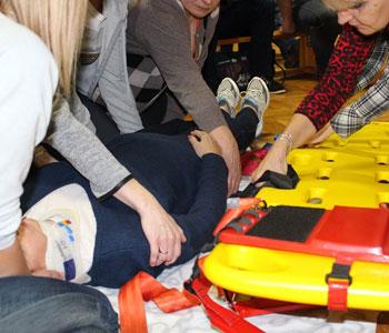 Kurs pierwszej pomocy wrocław foto