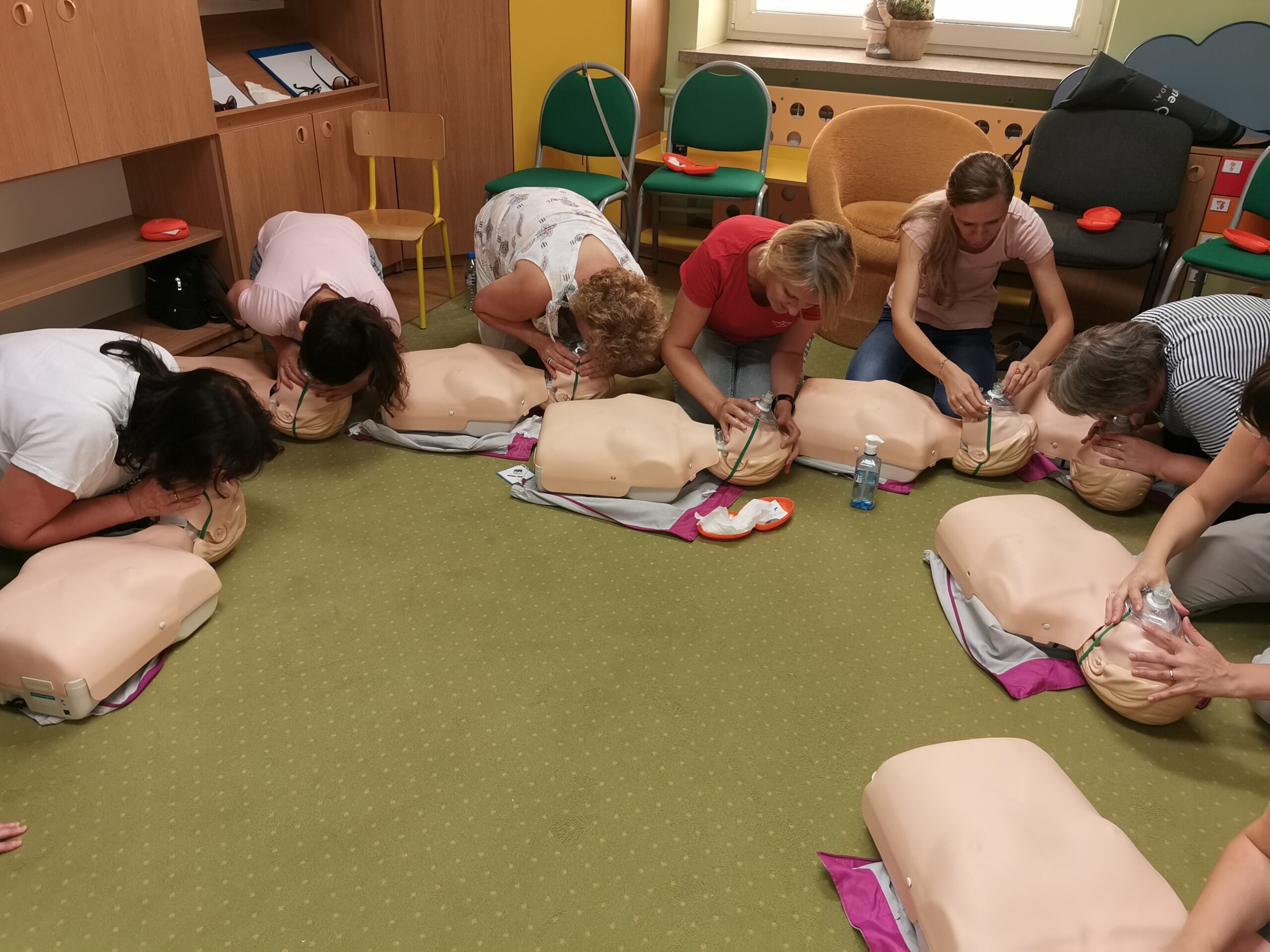 kurs pierwszej pomocy sosnowiec