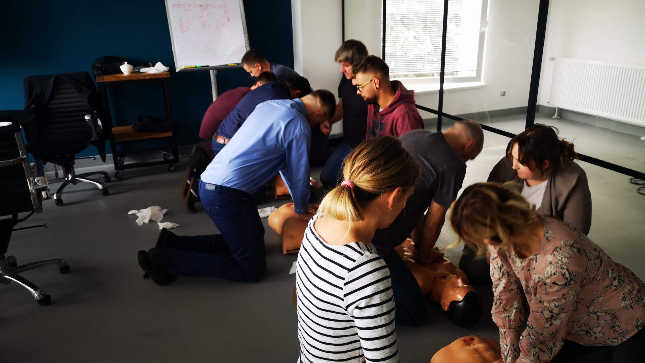 kurs pierwszej pomocy szczecin